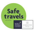 Logo Safe Travels Sheraton Buganvilias Puerto Vallarta